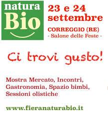 Natura Bio Festival degli stili di vita sostenibili 2017 Correggio (RE)